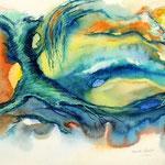 Daniela Neufeld - Märchenbaum 30 x 50 cm