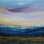 Daniela Neufeld - Berglandschaft 50 x 60 cm - verkauft
