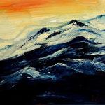 Daniela Neufeld - Gipfel-Impressionen 40 x 50 cm