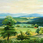 Daniela Neufeld - Rhön-Landschaft III 40 x 50 cm