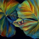 Daniela Neufeld - Schmetterling                                                                   60 x 80 cm
