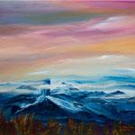 Daniela Neufeld - Magische Berge 50 x 60 cm - verkauft