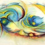 Daniela Neufeld - Blicke 30 x 50 cm