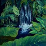 Daniela Neufeld - Wasser des Lebens                                                         80 x 60 cm