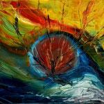 Daniela Neufeld - Im Auge des Baumes 50 x 70 cm