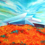 Daniela Neufeld - Future-Haus 70 x 100 cm
