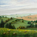 Daniela Neufeld - Rhön-Landschaft II 40 x 50 cm