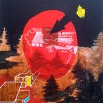 gemeinschaftsarbeit, Acryle auf Leinen, 120x150cm, 2015