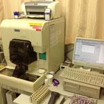 血液中の白血球や赤血球の数などを測定します。