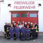 Die Kameraden der FF Bücknitz