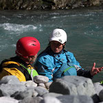 Wildwasserausfahrt ins Engadin