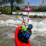 Slalom in Ivrea, Juni 2013, photo by Arnd Schäftlein