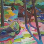 Feldaist, Öl/Lw, 60 x 50 cm