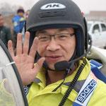 Chen Mo, a happy pilot!