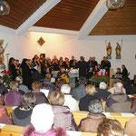 Gospel & More, der Chor der Sing- und Musikschule der Stadt Neumarkt i.d.OPf.  unter der Leitung von Herrn Wolfgang Fuchs