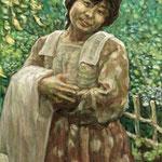 油絵肖像画・女性