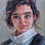若い女性の肖像画