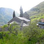 L'église d'Ornolac (Ariège-Pyrénées)