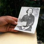 Louise Michel, emprisonnée au village
