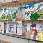 Réaliser une série de cartes postales sur le quartier