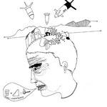 La guerre de Blas, dessin, A4