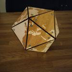 Een wereld bol... uhh polygon?