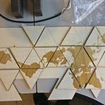Die driehoekige stukken, pre-assembly!
