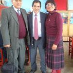 Valoramos el apoyo recibido por el Prof. Wilfredo Graza