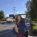 Fabiola desarrollando gestiones sobre los certificados en la UGEL-CUSCO.