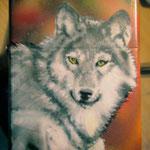 """Benzinfeuerzeug """"Wolf"""""""