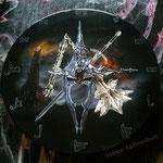 Uhr aus Schallplatte ( Hexenkönig von Angmar)