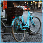 bike in blue