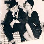 1963, Ursula mit Studienfreund Peter Anders in Bonn
