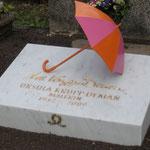 2009, Ursula Krupp-Demans Grabstein auf dem Bonner Nordfriedhof