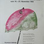 1. Plakat Kulturtage 1982