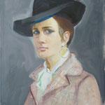 1964, Ursula portraitiert von ihrer Mutter Gerda Deman