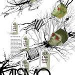 Cartel de concienciación sobre el medioambiente