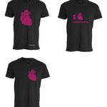 Prototipos de camisetas del Grado de Enfermería