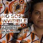 """Cartel campaña social """"Mujeres violentadas de Nicaragua"""""""