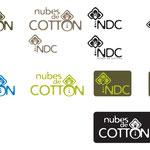"""Prototipo del logotipo de la marca de ropa """"Nubes de Cotton"""""""