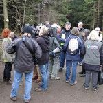 Der SWR interviewt weitere Teilnehmer vor Ort
