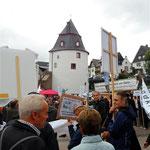 vor dem Schinderhannesturm