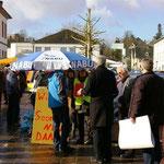 Donnerstag 8. März 2012 auf dem Schloßplatz in Simmern