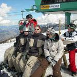 Snowboardgruppe von Thorsten auf dem Hauser Kaibling