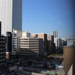 当ビル9階貸室より、首都高速越しにスカイタワーを望む