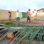 Sonnenschutz für die Gemüsebeete