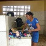 Wäsche waschen in der Handwäscherei