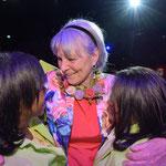 Gudrun Pavel mit Ihren Überraschungsgästen