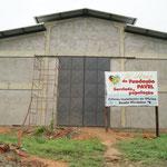 Der Rohbau der neuen KFZ Werkstatt