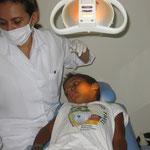 Betreuung durch Zahnärzte